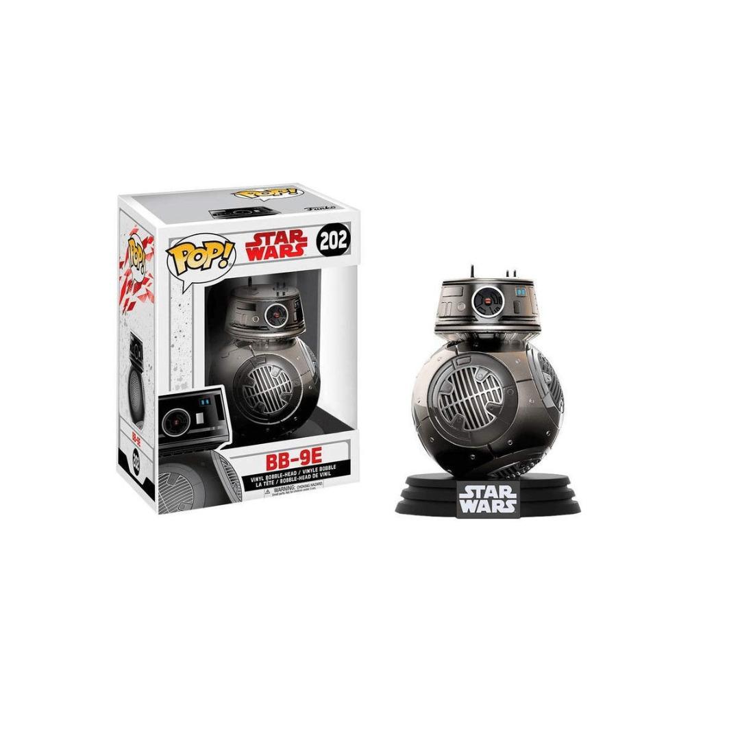 Star Wars POP! BB-9E Chrome Exclusive Edition Vinyl Figure 10 cm