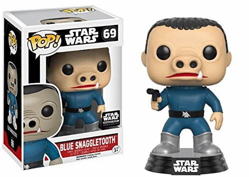 Star Wars POP! Blue Snaggletooth Smugglers Bounty Exclusive 10 cm