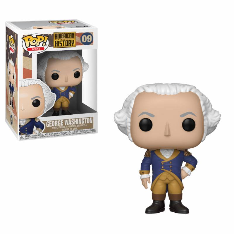 American History POP! Icons Vinyl Figure George Washington 10 cm