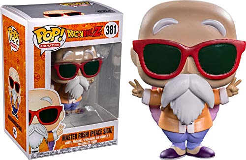 Funko POP! Animation Dragonball Z - Master Roshi (Peace Sign) Exclusive Edt