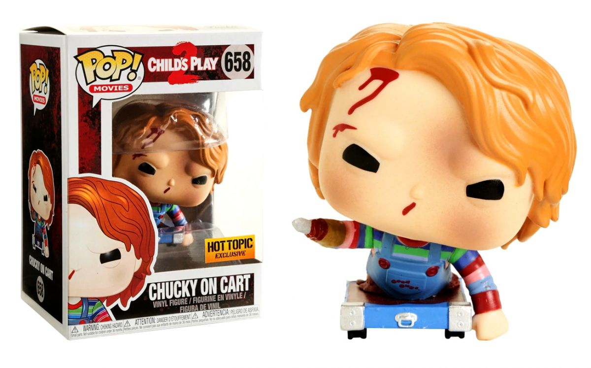 Funko POP! Movies Child Play 2- Chucky on Cart Exclusive Edition 10 cm