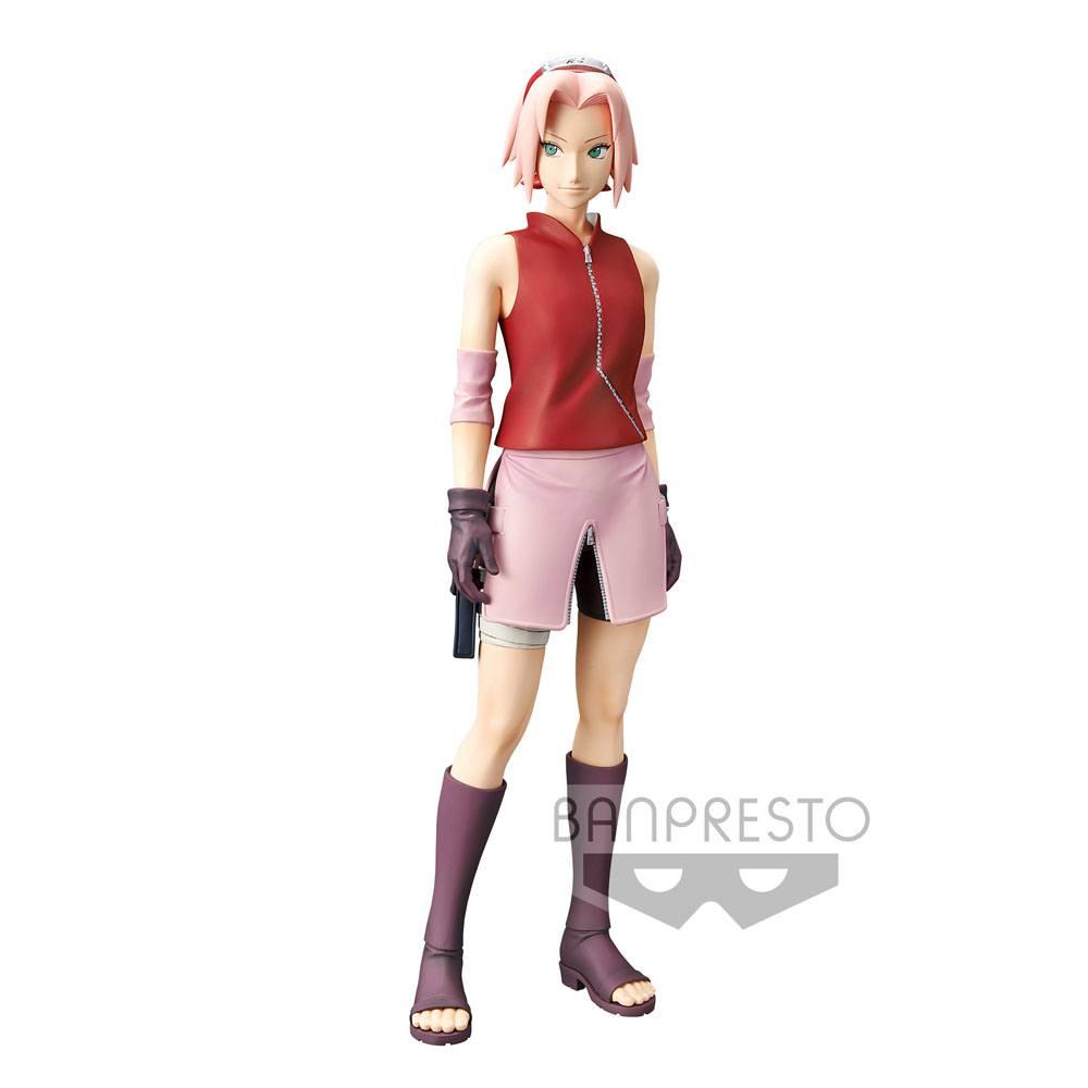 Naruto Shippuden Grandista Shinobi Relations Figure Haruno Sakura 23 cm