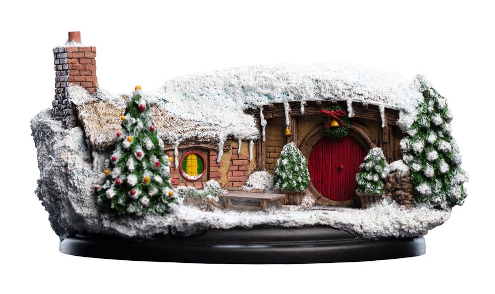 The Hobbit An Unexpected Journey Statue 35 Bagshot Row Christmas Edition