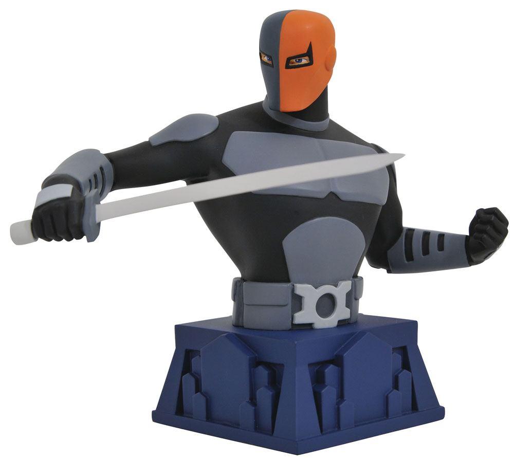 Batman The Animated Series Bust Beware The Batman Deathstroke 15 cm