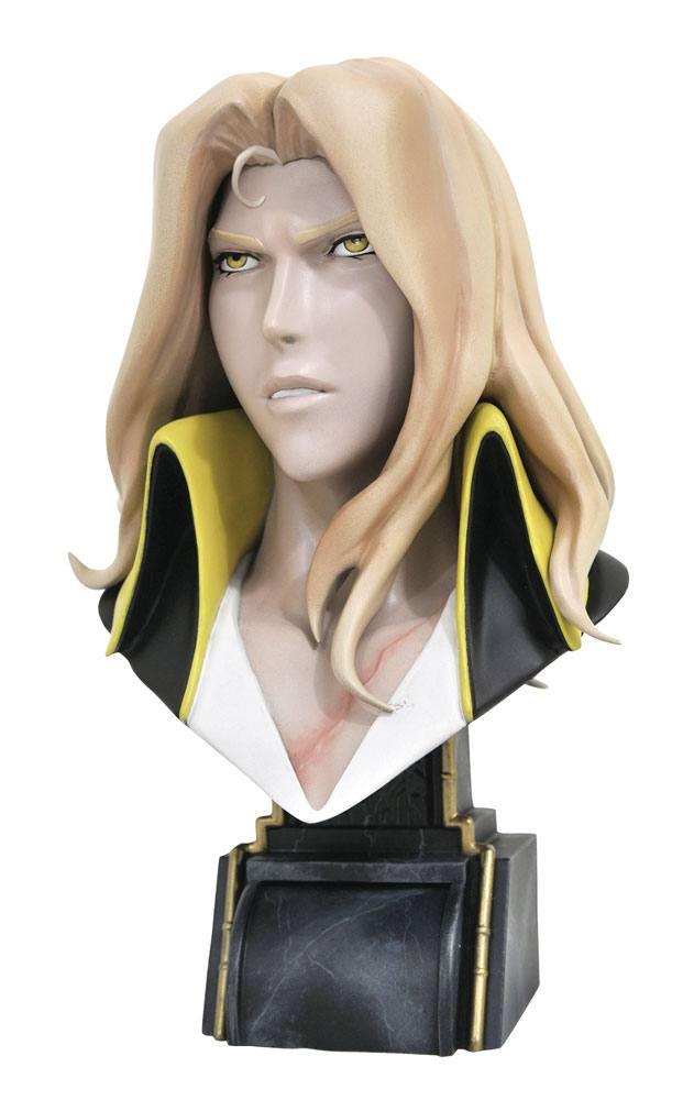 Castlevania Legends in 3D Bust 1/2 Alucard 25 cm