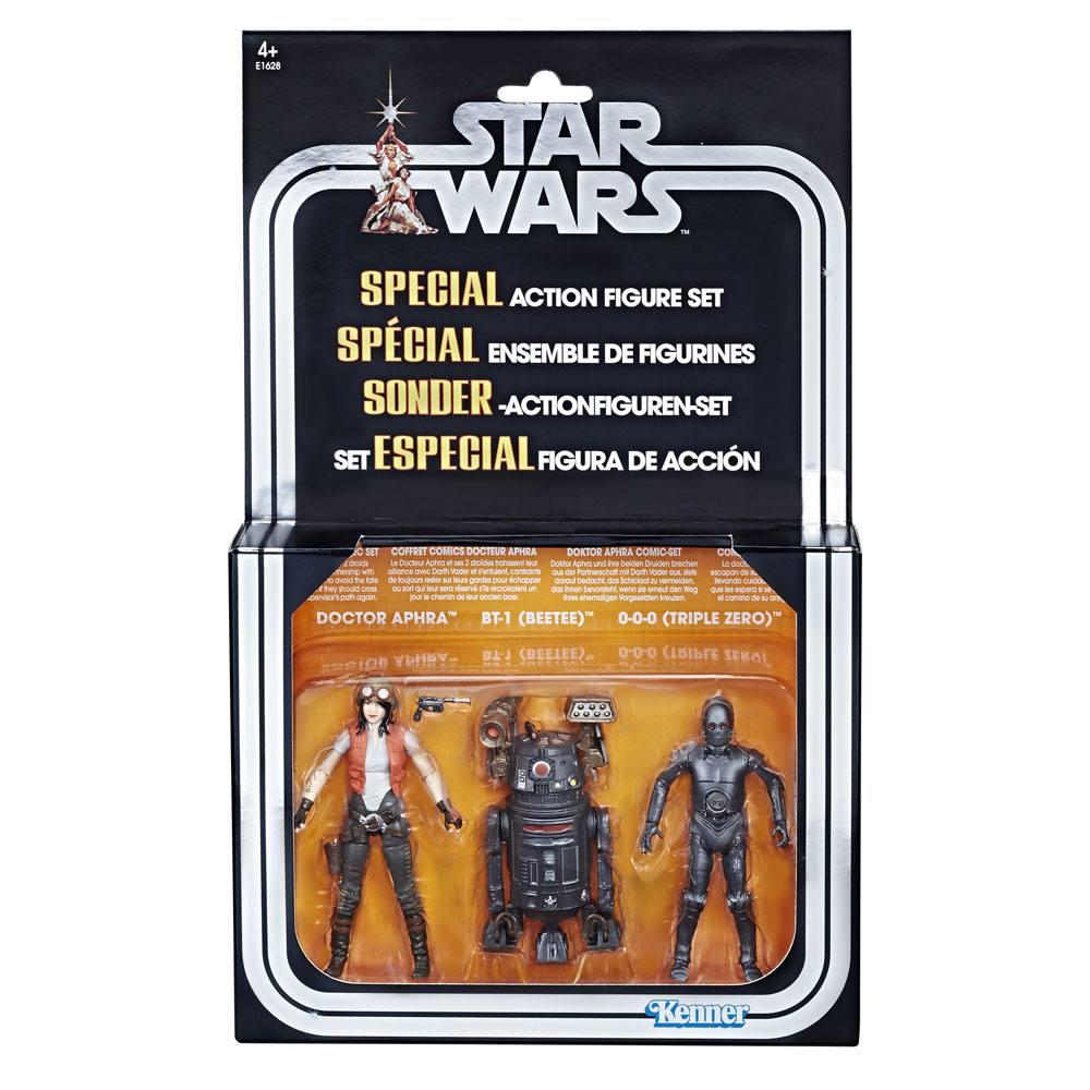 Star Wars Premium Vintage Collection AF 3-Pack Doctor Aphra Comic Set Exc.