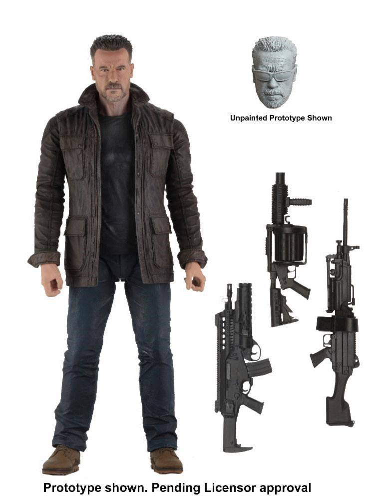 Terminator: Dark Fate Action Figure T-800 18 cm