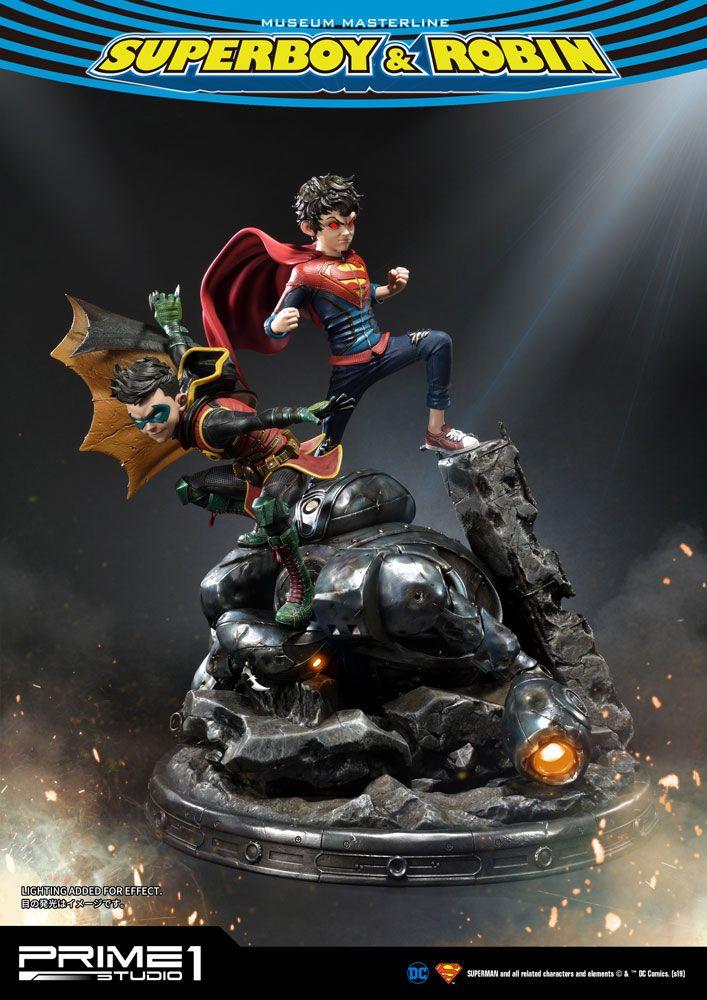 DC Comics Statue 1/3 Superboy & Robin 64 cm