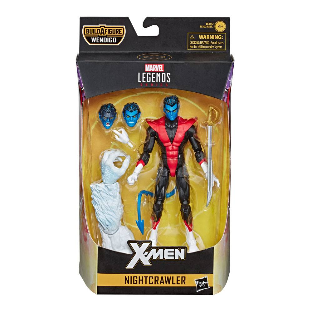 Action Figure Marvel Legends X-Force Nightcrawler (X-Men) 15 cm