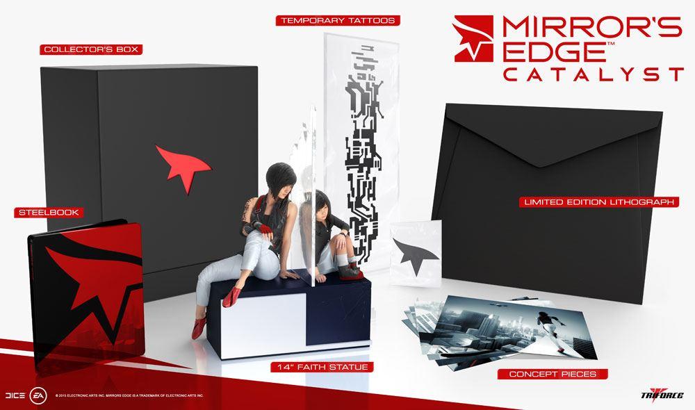 Mirror's Edge Catalyst Collector's Edition Statue Faith 35 cm