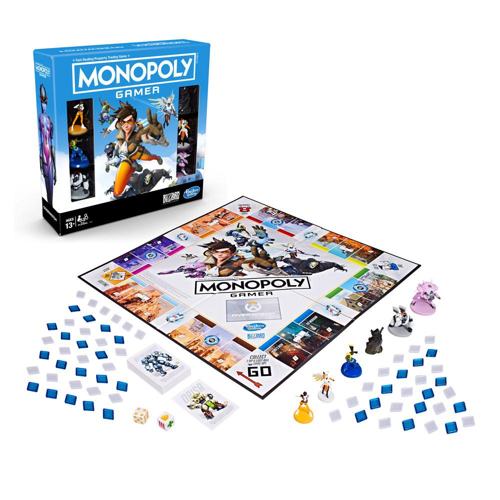 Overwatch Board Game Monopoly Gamer *English Version*