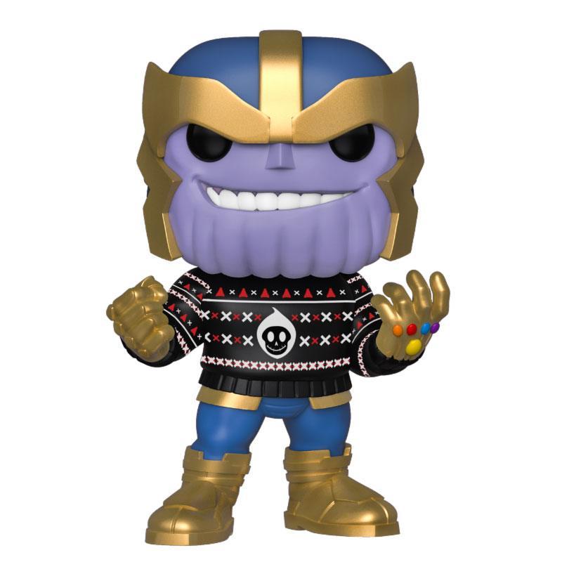 Marvel Holiday POP! Marvel Vinyl Figure Thanos 10 cm