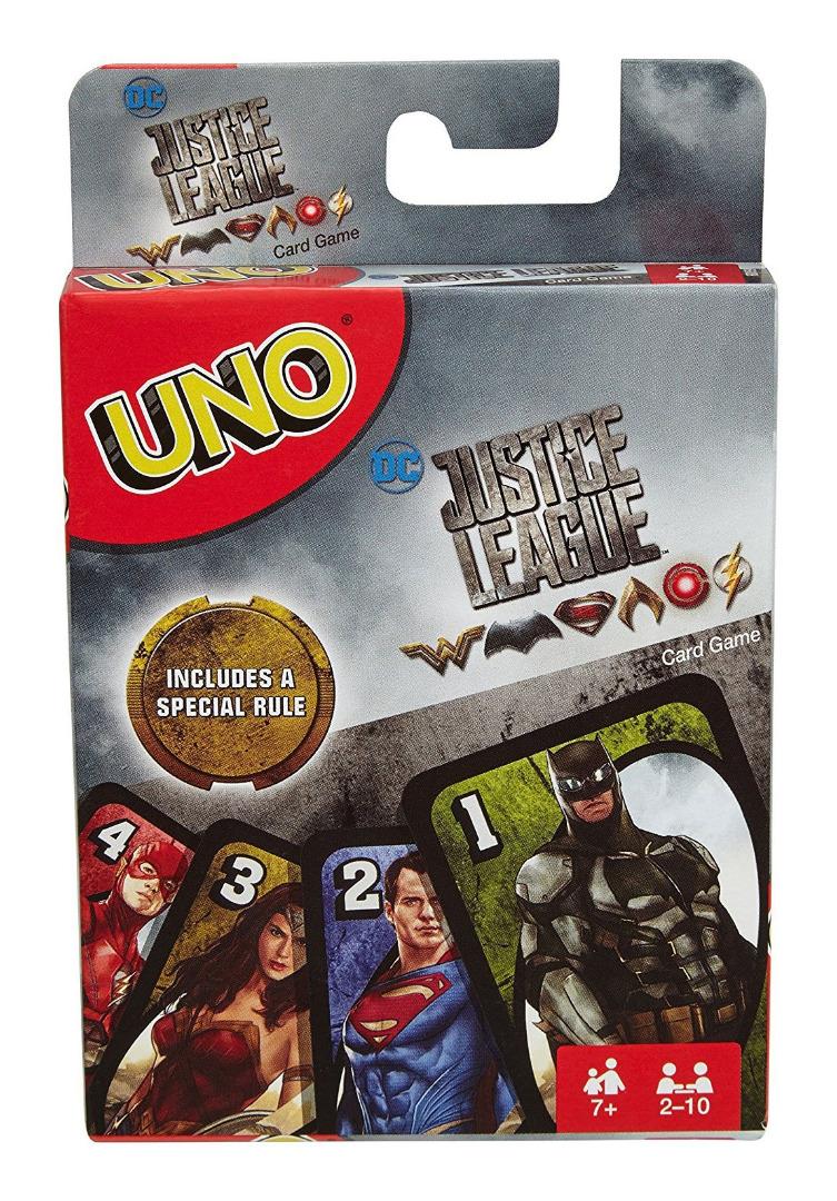 Justice League UNO Card Game *English Version*