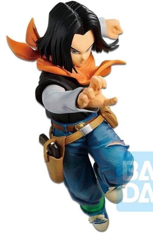 Dragonball Z PVC The Android Battle Statue Android 17 20 cm