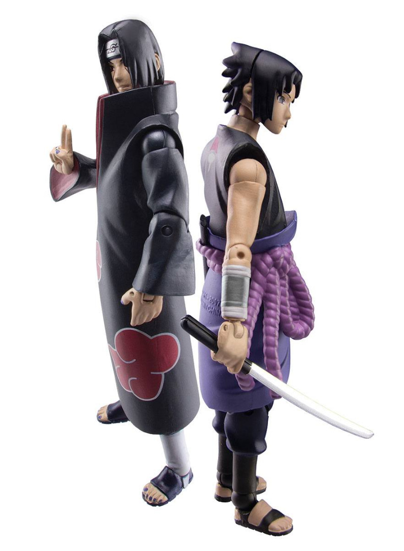 Naruto Shippuden Action Figure Set Sasuke vs. Itachi 2018 SDCC Exclusive