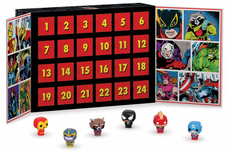 Marvel Pocket POP! Advent Calendar (24 Pocket POP!)