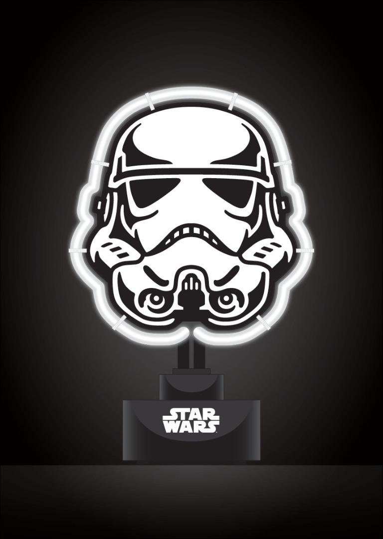 Star Wars Neon Light Stormtrooper 17 x 24 cm