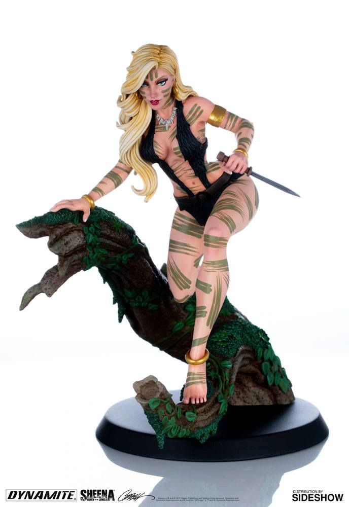 Women of Dynamite Statue Sheena Night Stalker Variant by J. Scott Campbell