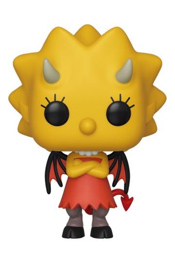 Simpsons POP! TV Vinyl Figure Demon Lisa 10 cm