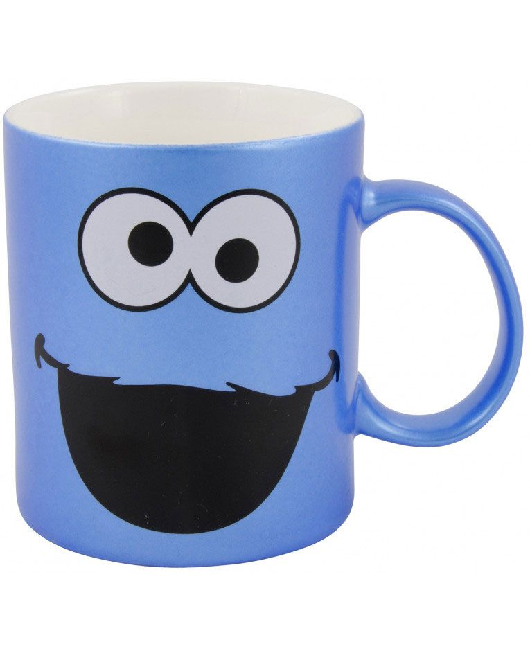 Caneca/Mug Sesame Street Cookie Metallic