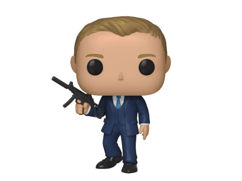 James Bond POP! Movies Vinyl Figure Daniel Craig (Quantum of Solace) 10 cm