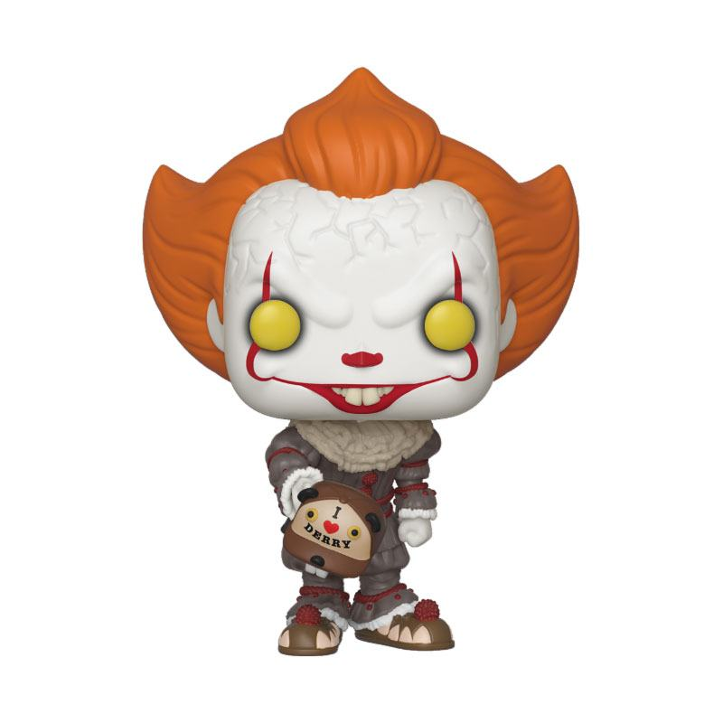 It 2 POP! Movies Vinyl Figure Pennywise (Beaver Hat) 10 cm