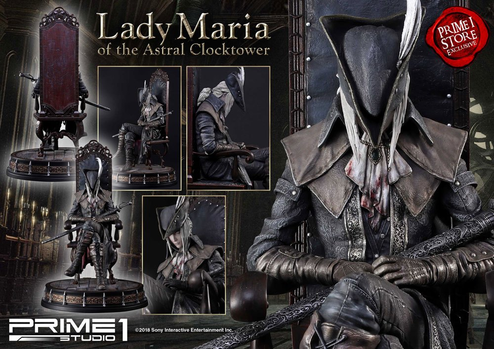 Bloodborne The Old Hunters Statue 1/4 Lady Maria of the Astral Clocktower