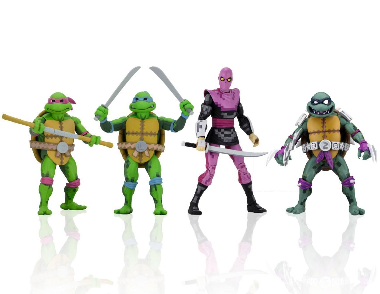 Teenage Mutant Ninja Turtles: Turtles in Time Action Figures 18 cm Series 1