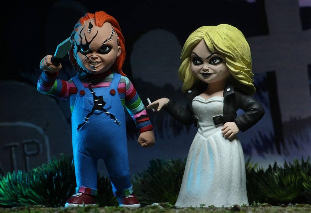 Bride of Chucky Toony Terrors Action Figure 2-Pack Chucky & Tiffany 15 cm