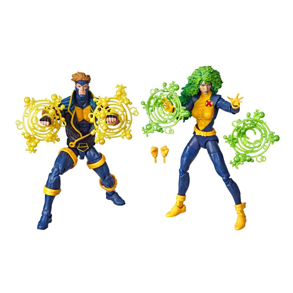 Marvel Legends 80th Anniversary Action Figures 2-Pack X-Men Havok & Polaris