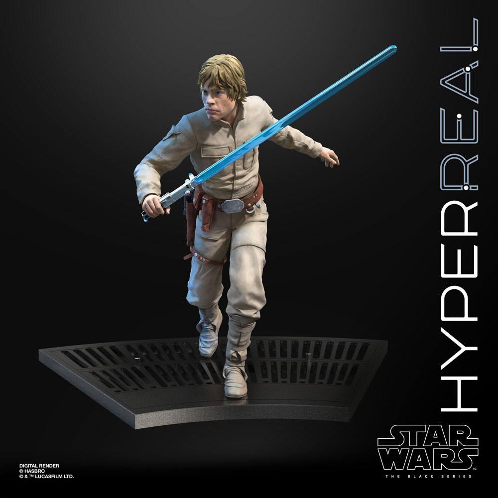 Star Wars Episode V Black Series Hyperreal Action Fig. Luke Skywalker 20 cm