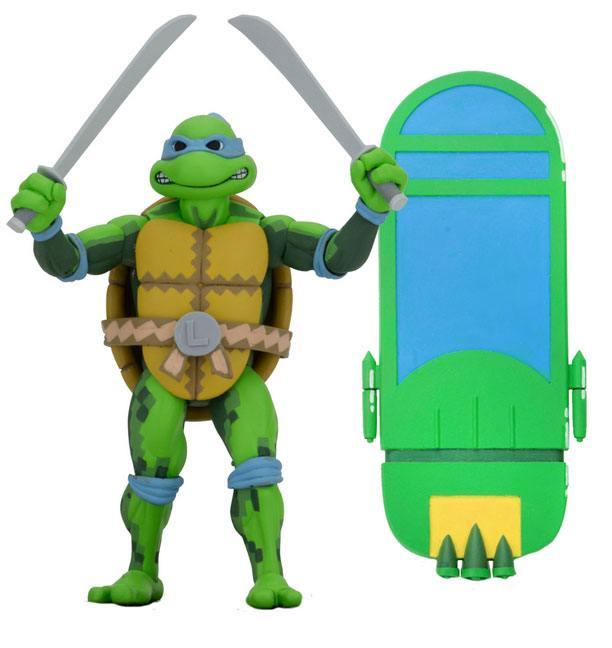 Action Figure Teenage Mutant Ninja Turtles: Turtles in Time Leonardo 18 cm