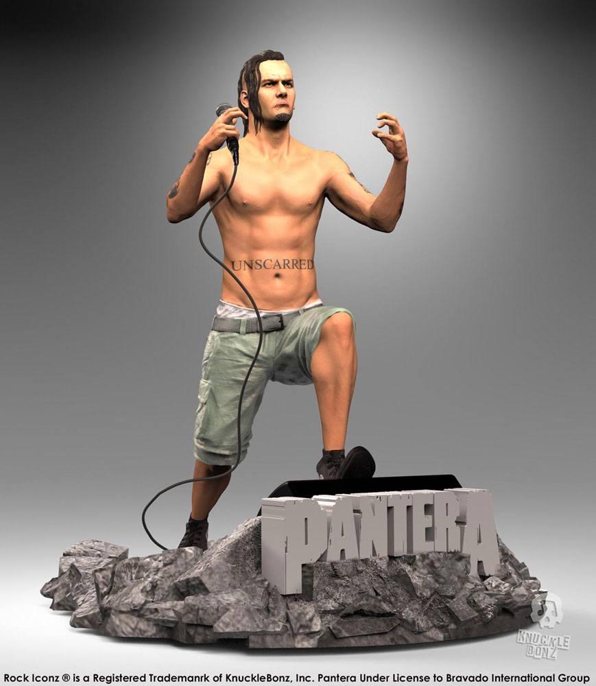 Pantera Rock Iconz Statue Philip Anselmo 22 cm