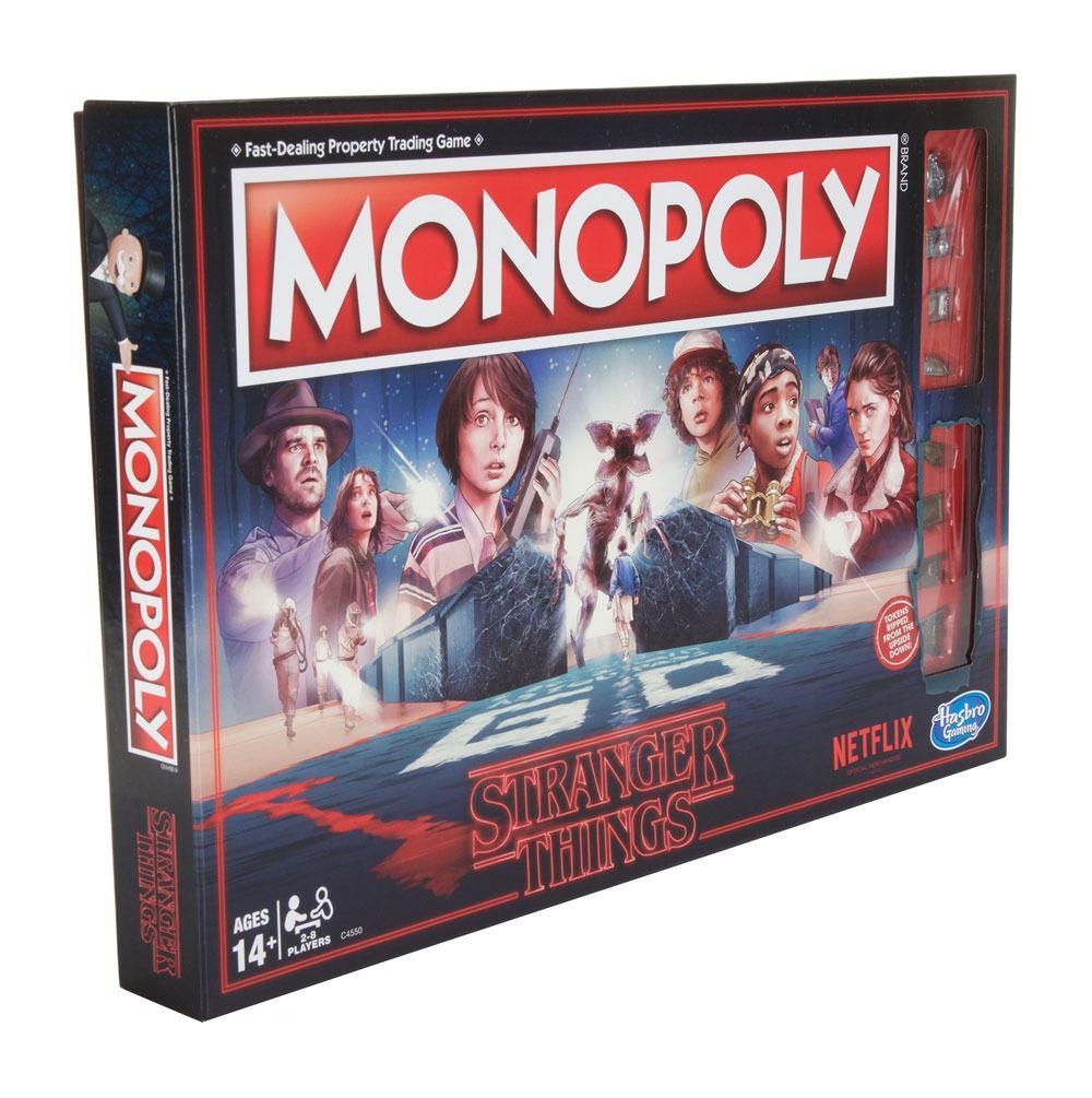 Stranger Things Board Game Monopoly *English Version*