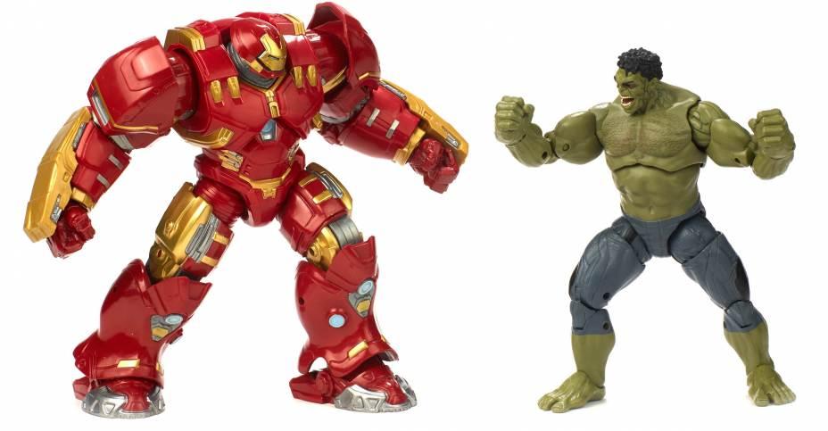 Action Figure Marvel Legends Avengers - 10TH Aniv. Hulk & Hulkbuster 20 cm
