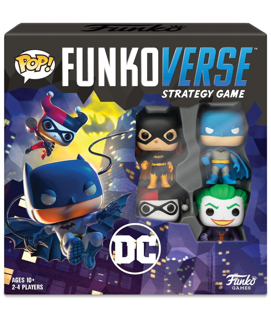 Pop! Funkoverse Strategy Game: DC Comics - English Base Set