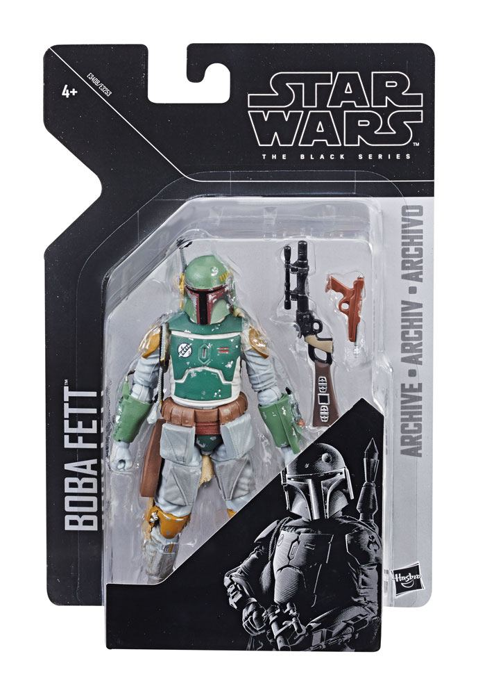 Action Figures Star Wars Black Series Archive Boba Fett 2019 Wave 1 15 cm