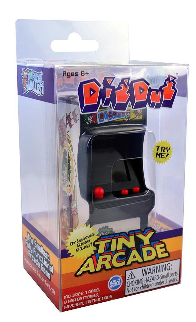 Tiny Arcade Dig Dug Miniature Arcade Game