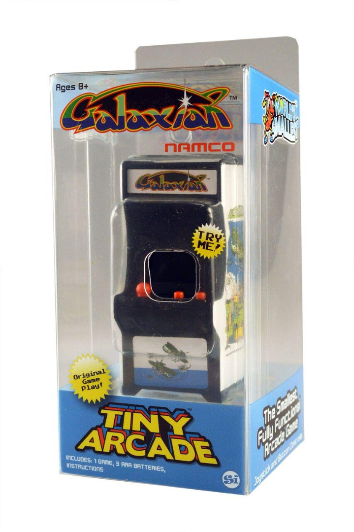 Tiny Arcade Galaxian Miniature Arcade Game
