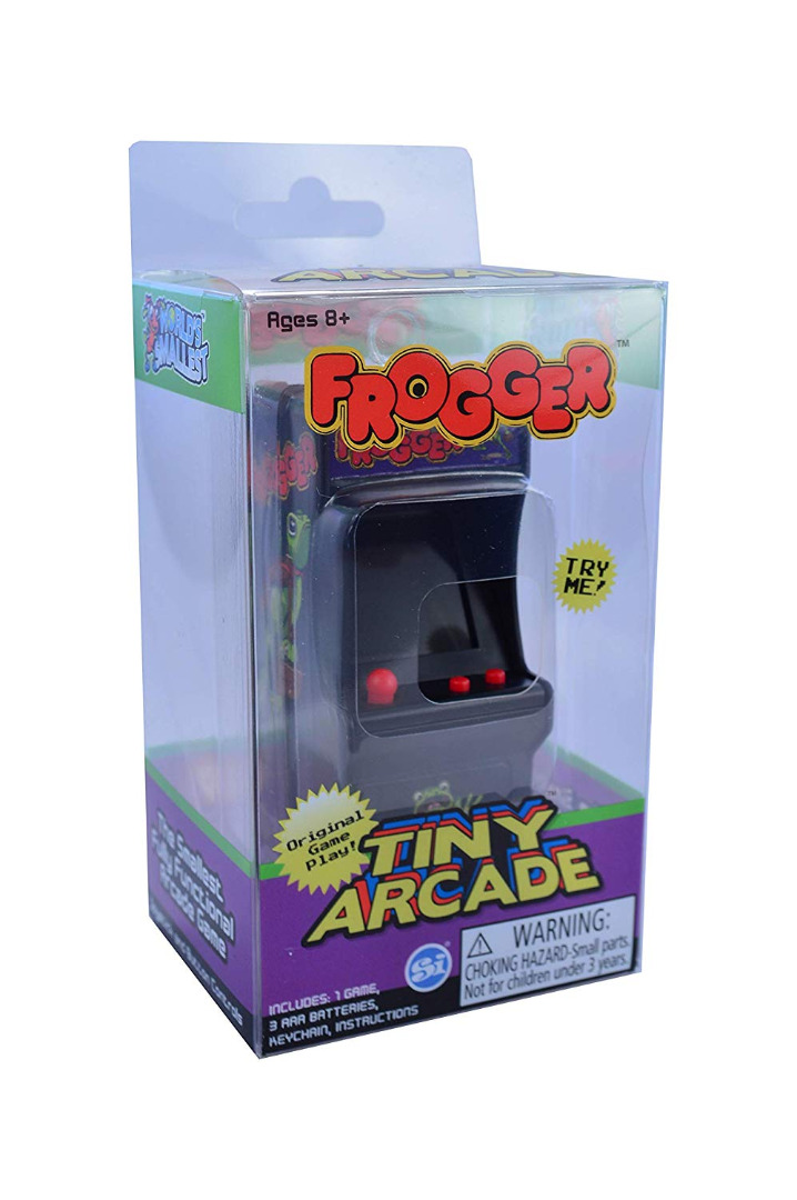 Tiny Arcade Frogger Miniature Arcade Game