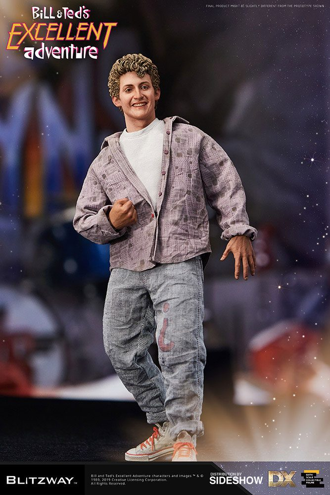 Bill & Ted's Excellent Adventure Action Fig. 2-Pack 1/6 Bill & Ted 28-29 cm