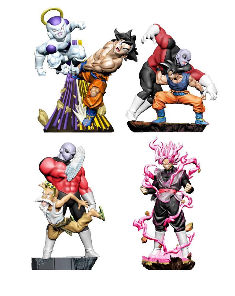 Dragonball Super Dracap Trading Figure 8 cm Re: Birth Super Revival 4-Pack