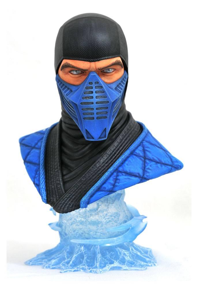 Mortal Kombat 11 Legends in 3D Bust 1/2 Sub-Zero 25 cm