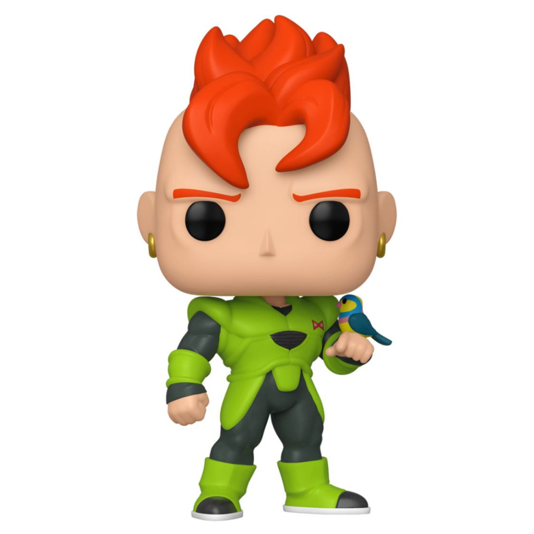 Dragon Ball Z POP! Animation Vinyl Figure Android 16 10 cm