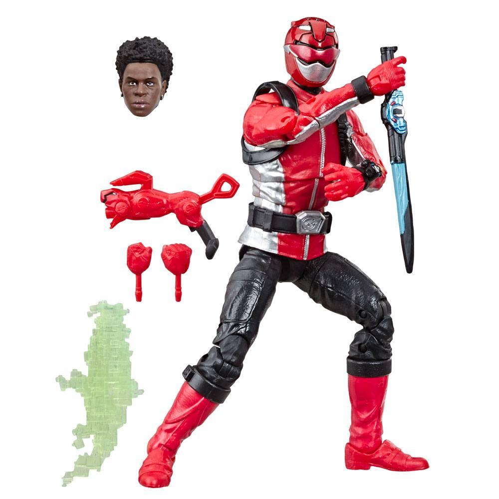 Power Rangers Lightning Collection AF Beast Morphers Red Ranger 15 cm