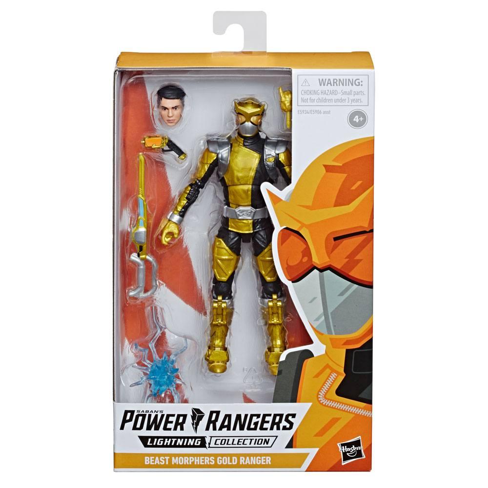 Power Rangers Lightning Collection AF  Beast Morphers Gold Ranger 15 cm