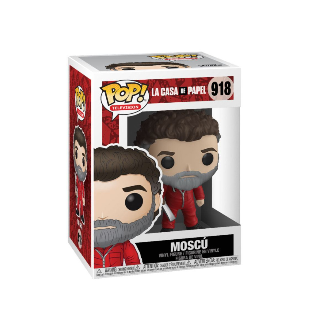 Money Heist  (Casa de Papel) POP! TV Vinyl Figure Moscow 10 cm