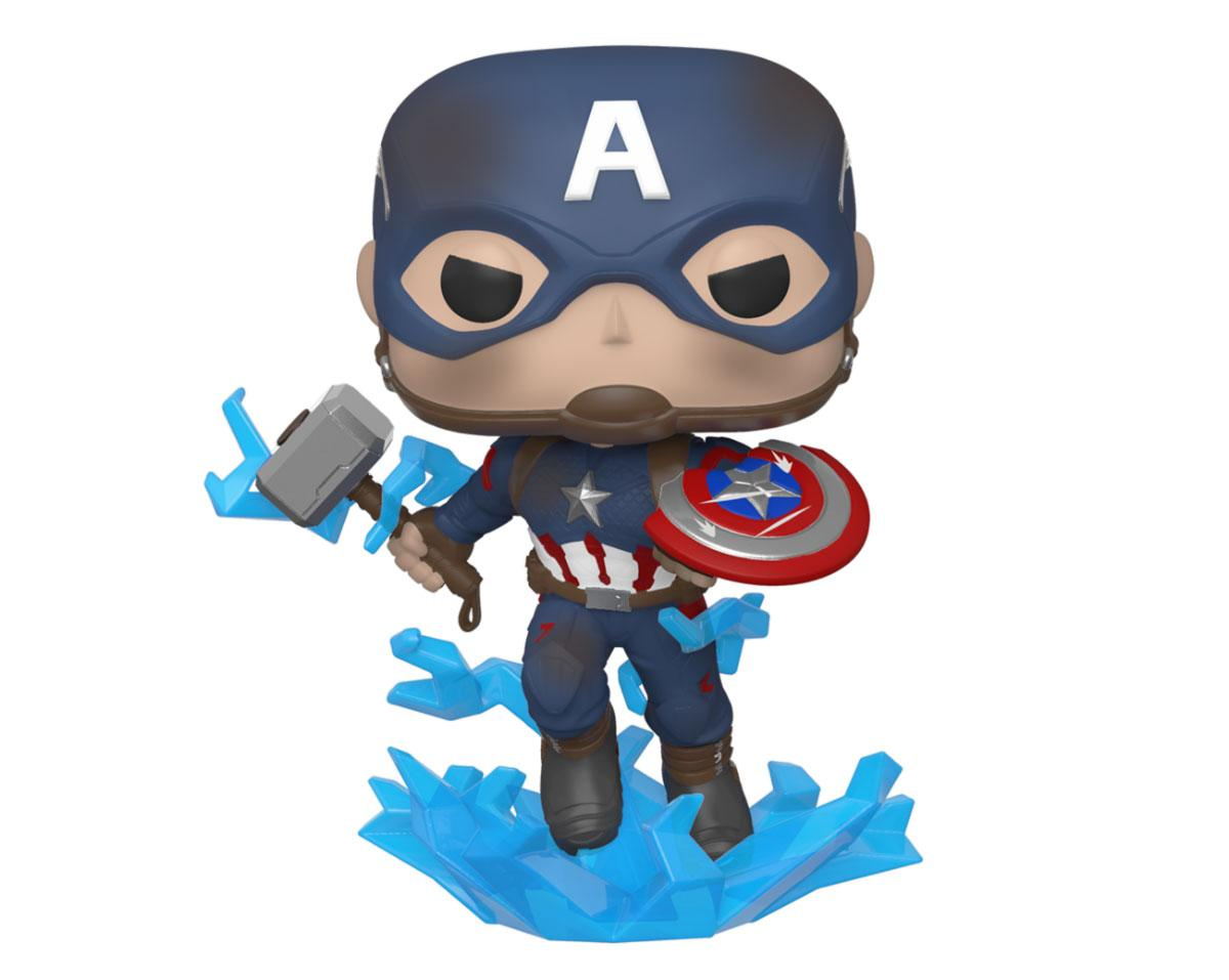 Avengers: Endgame POP! Movies Vinyl Figure Captain America w/Broken Shield