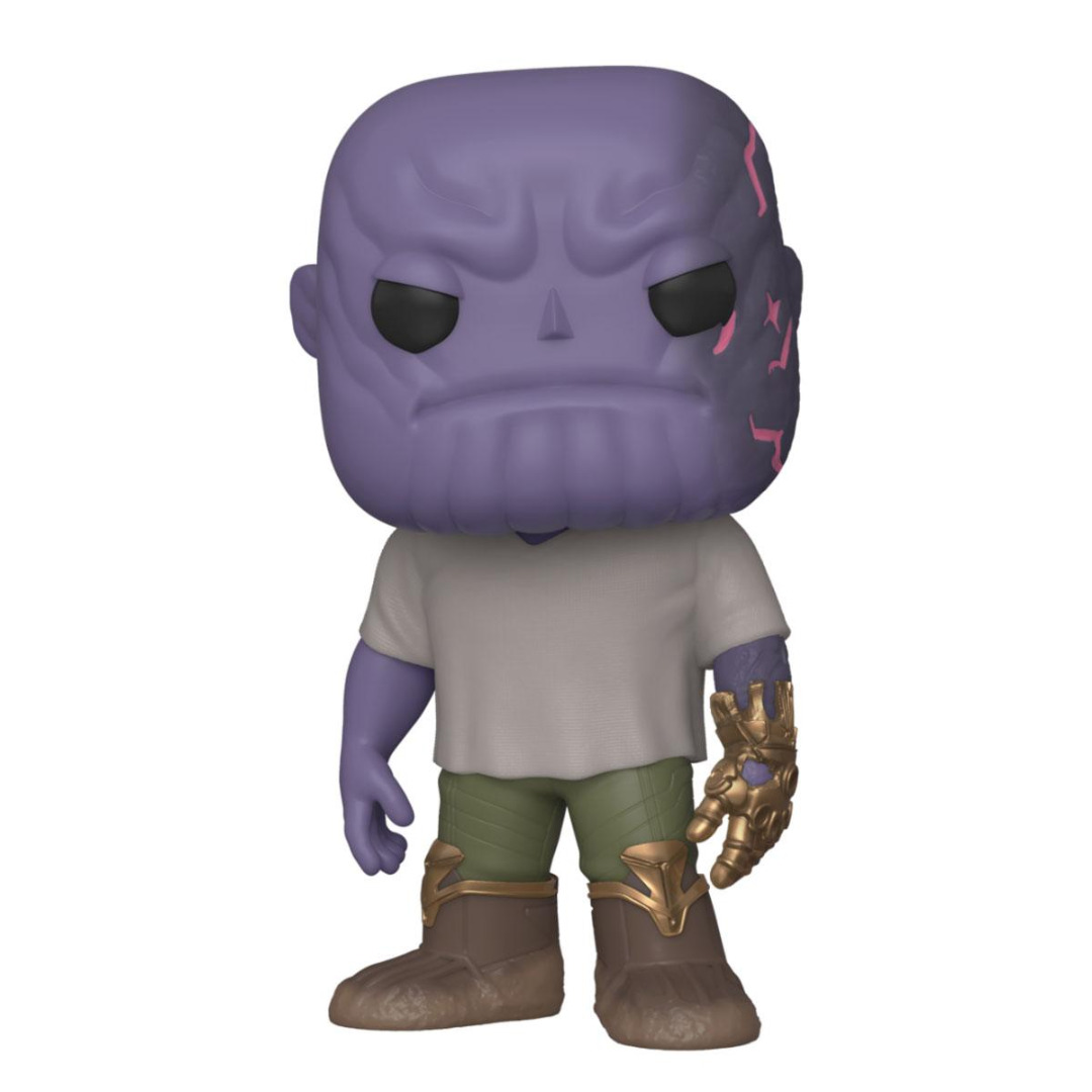 Avengers: Endgame POP! Movies Vinyl Figure Casual Thanos w/Gauntlet 10 cm