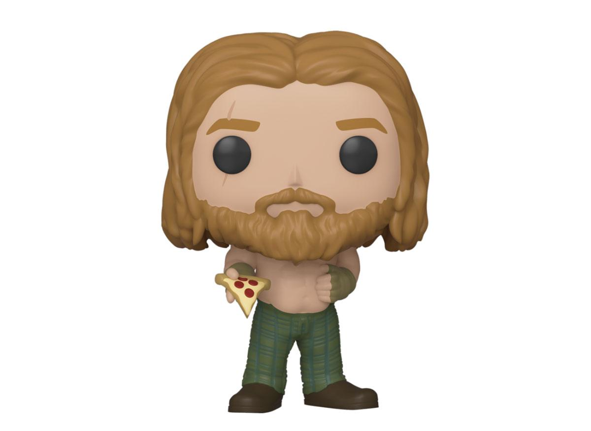 Avengers: Endgame POP! Movies Vinyl Figure Thor w/Pizza 10 cm